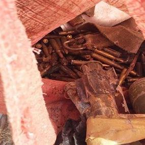 بالصور.. ذخائر قديمة العهد على كورنيش صيدا