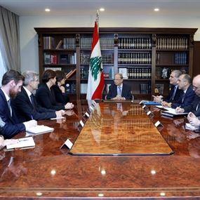 الرئيس عون: مطالب المعتصمين أولى أهداف الحكومة المقبلة