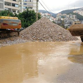 بالصور: كارثة قد تشهدها منطقة انطلياس وضواحيها