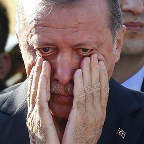 أردوغان يفقد الوعي أثناء صلاة العيد.. والسبب!