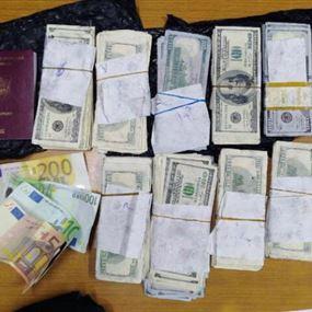 بالصور: في مطار بيروت.. مبالغ مزيفة وحقيبة مجوهرات ضائعة!