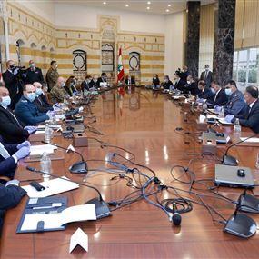 المجلس الاعلى للدفاع: تمديد التعبئة العامة لغاية 12 نيسان المقبل