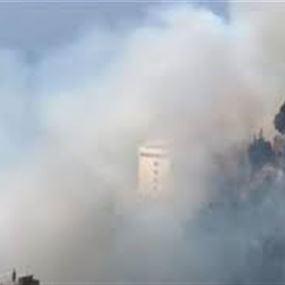 هذا ما أوعز به وزير الصحة إثر الحريق الذي يهدد مستشفى دير الصليب