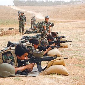 الإناث في الجيش اللبناني.. من الوظائف الإدارية الى العمل الميداني