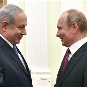 بوتين حذر نتنياهو من مغبة ضرب أهداف في لبنان وسوريا