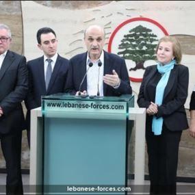 جعجع: لائحة المتن قلب لبنان تحمل مشروع الوصول إلى دولة فعلية