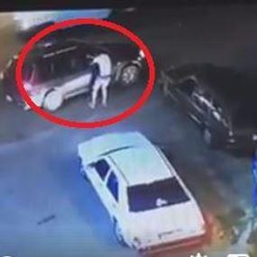 بالفيديو.. مقتل مارون نهرا بعد اطلاق النار عليه داخل سيارته