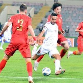 لبنان يفوز على سوريا في تصفيات مونديال قطر
