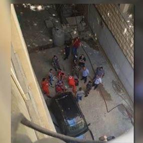 بالصورة: موقوف يلقي بنفسه من الطابق الثاني في قصر عدل بيروت
