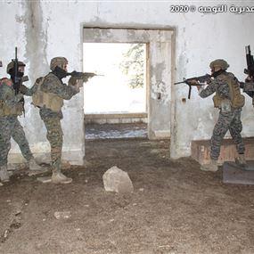 وحدات من الجيش أنهت تدريباً بالتعاون مع فريق أميركي (صور)