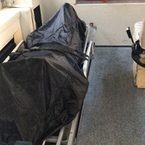 نقل جثة مواطن من برمانا الى مستشفى الحياة