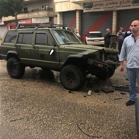 جريحان في حادث سير على طريق عام الكرك زحلة