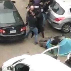 شعبة المعلومات توقف صاحب السيارة التي اطلقت النار على بيت الكتائب