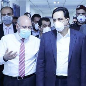 دياب من مستشفى الحريري: العاملين في المستشفى سيقبضون رواتبهم