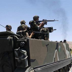 مداهمات للجيش بقاعا وتوقيف مطلوبين