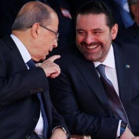 عقوبات ضد الرئيس عون والحريري!؟