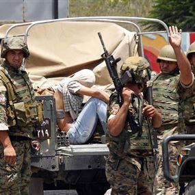 توقيف 8 اشخاص من داعش في جرود عرسال
