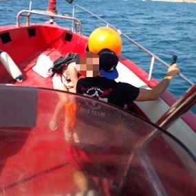 أصيبت بوعكة صحية وهي على متن اليخت في عرض البحر