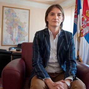 امرأة مثلية رئيسة للحكومة في صربيا