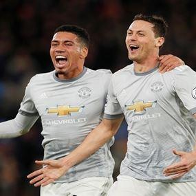 مانشستر يونايتد ينجو من فخ كريستال بالاس في الدوري الإنجليزي