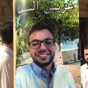 بالفيديو.. كلمة مؤثرة لصديق روي حاموش في يوم عرسه