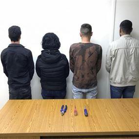 هكذا تم القبض على أفراد عصابة سرقة سيارات وسقوط إم علي