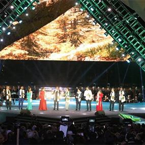 بالصور.. 12 نجماً لبنانياً افتتحوا مهرجانات الأرز الدولية