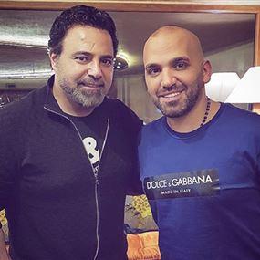 بالفيديو: ناجي الأسطا وعاصي الحلاني يغنيان معًا