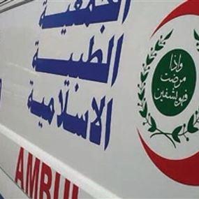 سقوط عامل بناء في مسجد قيد الإنشاء