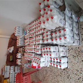 بالصور.. ضبط أكثر من ألف عبوة مواد تنظيف مزورة في القليعات