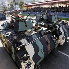 الجيش ينفي شائعات مغرضة تتعرض لاحد الضباط