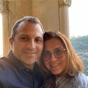رسالة علنية من باسيل الى زوجته شانتال...