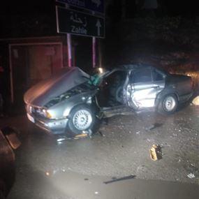 قتيل وجريح جراء حادث سير