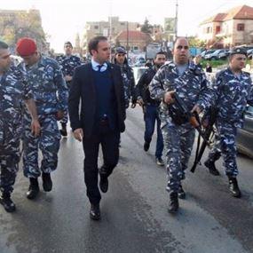 خضر: المسؤولون يضعون نصب أعينهم أمن محافظة بعلبك الهرمل