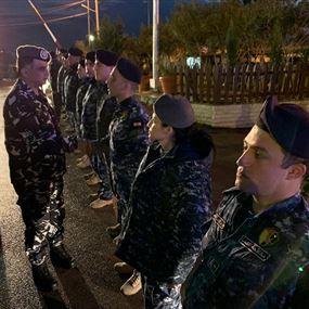 اللواء عثمان هنأ قوى الأمن على نجاح الاجراءات الامنية ليلة رأس السنة