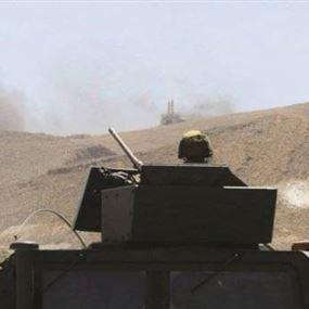 في القاع...رمايات رشاشة من داعش والجيش يرد
