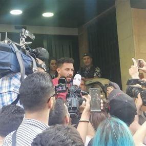 خلدون جابر: تم ضربي من حاجز الجيش إلى بعبدا