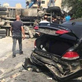 قتيل وأكثر من 12 جريحاً.. اللحظات الأخيرة قبل كارثة بشامون