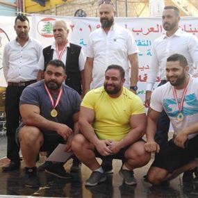 حمانا استضافت بطولة لبنان والعرب 26 في الرياضات التقليدية