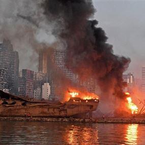 صوان يطالب البرلمان بملاحقة وزراء بانفجار مرفأ بيروت