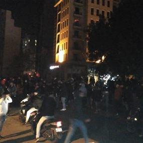 توتر في وسط بيروت بعد تسريب فيديو مسيء