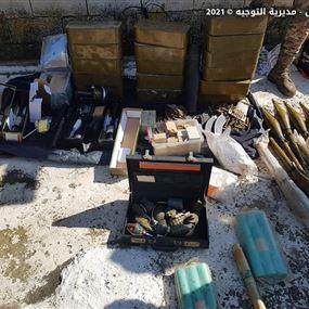 توقيف فلسطيني وشقيقه وضبط متفجرات وألغام داخل مخرطة (صور)