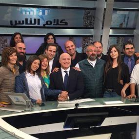 بعد ربع قرن.. هكذا ودع مارسيل شاشة المؤسسة اللبنانية للارسال