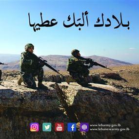 مفاجأة من قيادة الجيش للبنانيين.. ولماذا ألبك بدل قلبك؟