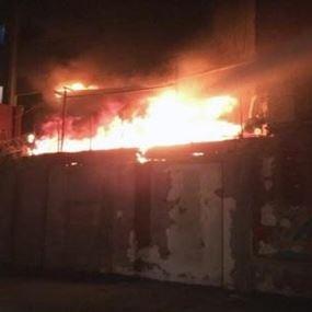 بالصّور: فندق في بيروت ينجو من كارثة