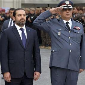 الحريري: تحية ثناء وتقدير الى رجل الامانة والاستقامة اللواء عثمان