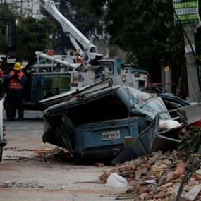زلزال عنيف يهز جنوب المكسيك