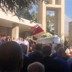 بالصورة: الرقيم البطريركي لعائلة البعينو والجمارك اللبنانية