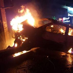 حادث سير مروع في جونية فجرا