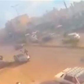 فيديو يكشف تفاصيل حادث الأوزاعي المروع